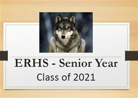 Picture of a Wolf for class of 2021 Senior Information